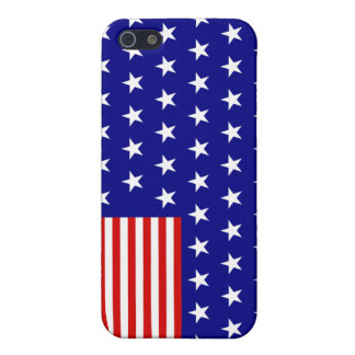 Reverse Color American Flag iPhone 5 Cover