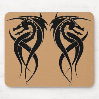 reverse dragon mouse pad