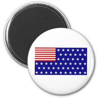 REVERSE FLAG 2 INCH ROUND MAGNET