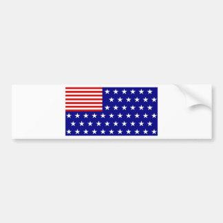 REVERSE FLAG BUMPER STICKER