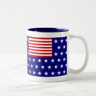 REVERSE FLAG Two-Tone COFFEE MUG