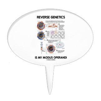 Reverse Genetics Is My Modus Operandi Cake Picks
