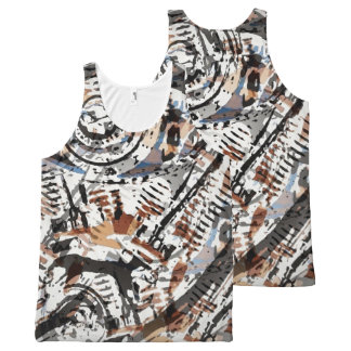 Reverse Image V-Twin All-Over-Print Tank Top