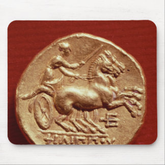 Reverse of a stater of Philip II  of Macedonia Mouse Pad