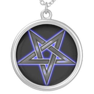 reverse pentacle neckalace jewelry