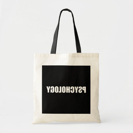 Reverse Psychology Canvas Bags