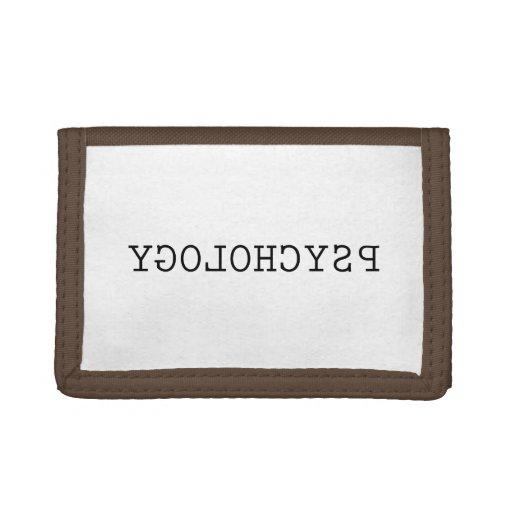 Reverse Psychology Tri-fold Wallet