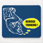 Reverse thinking mouse pad
