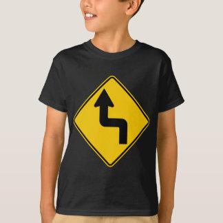 Reverse Turn (Left) Highway Sign T-Shirt