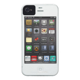 Reverse (white) iPhone 4 Case-Mate case