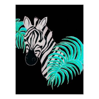 Reverse Zebra - Inverted Print
