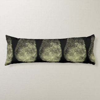 Reversed Loop Fingerprint Body Pillow