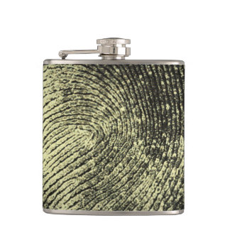 Reversed Loop Fingerprint Flask