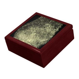 Reversed Loop Fingerprint Gift Box