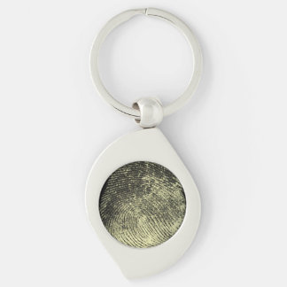Reversed Loop Fingerprint Keychain