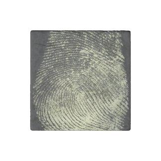 Reversed Loop Fingerprint Stone Magnet