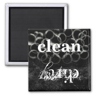 Reversible Dirty Clean Dishwasher Magnet