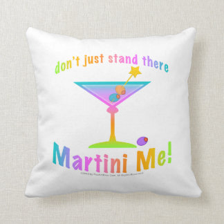 REVERSIBLE Don't Just Stand There MARTINI ME Ameri Pillow