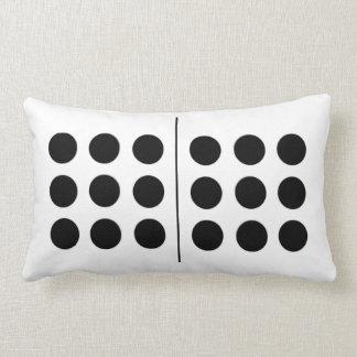 Reversible Double 9 Domino Pillow