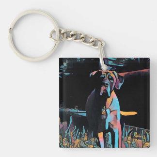 Reversible English Mastiff Keychain