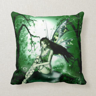 Reversible- Fairy Magic Throw Pillow