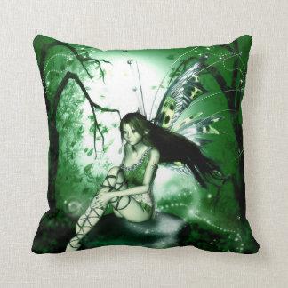 Reversible- Fairy Magic Throw Pillow