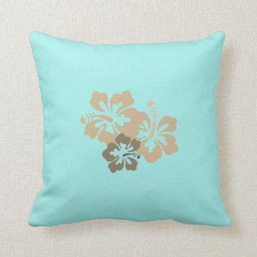 galxc_designs Reversible Hawaiian Hibiscus Throw Pillows