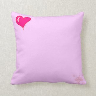 Reversible Love Pillow - Pink/Blue