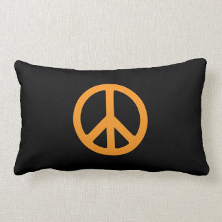 Reversible:  Peace Lumbar Pillow