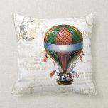 reversible pillow, fun and inspirational