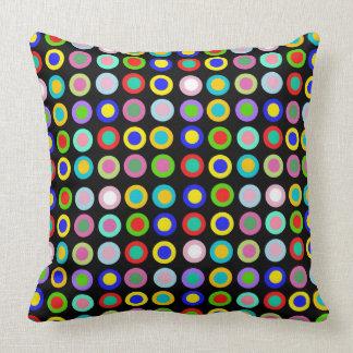 reversible pillow with lollipop colours