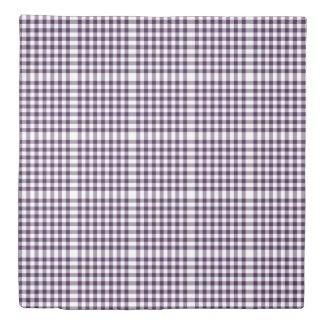 Reversible Purple/Green Gingham Patterns