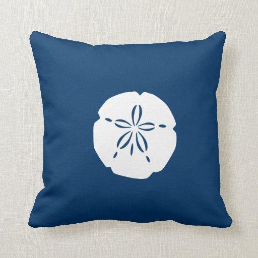 Throw Pillows Under 5 Dollars : Reversible Sand Dollar Throw Pillow Zazzle