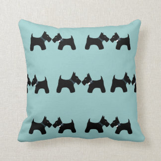 Reversible Scottie Dogs Pillow