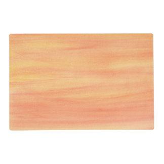 Reversible Yellow Orange Plus Multicolor Placemats