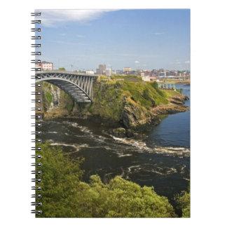 Reversing falls on the St. John River at St. 2 Notebook