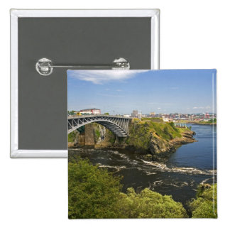 Reversing falls on the St. John River at St. 2 Pinback Button