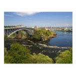 Reversing falls on the St. John River at St. 2 Postcard