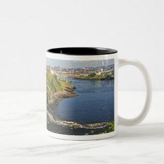 Reversing falls on the St. John River at St. 2 Two-Tone Coffee Mug