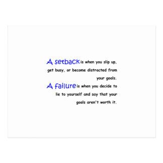 Revés contra fracaso postal