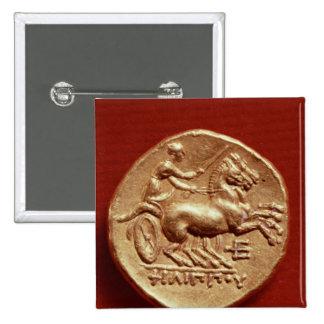 Revés de un stater de Philip II de Macedonia Pin