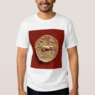 Revés de un stater de Philip II de Macedonia Playera
