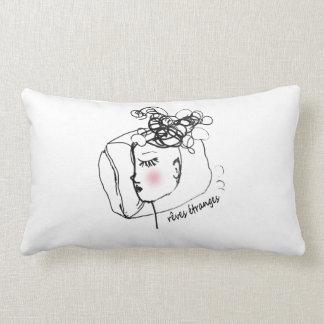 Rêves étranges lumbar pillow