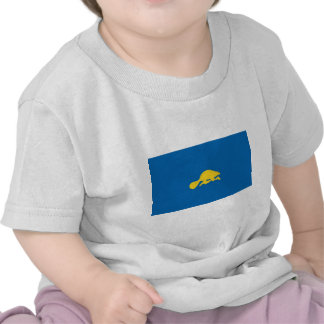 Revés oficial de la bandera del estado de Oregon Camiseta