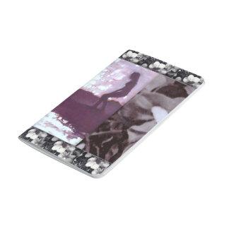 Revés púrpura del Wildflower del diario de la resa Cuadernos