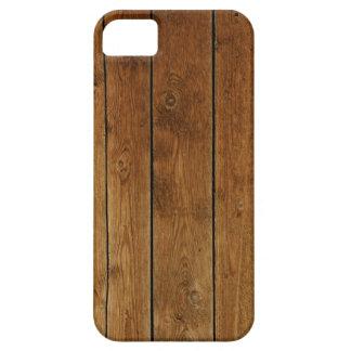 Revestimiento de madera de madera funda para iPhone 5 barely there