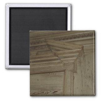 Revestimiento de madera I de la sala Imán Cuadrado