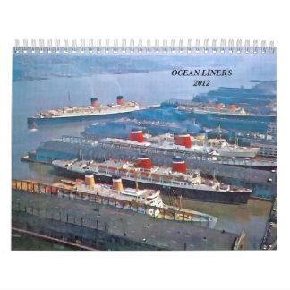 Revestimientos marinos 2012 calendario
