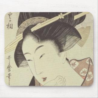 Reviente el retrato de la heroína Kioto del Itoya Alfombrillas De Ratones