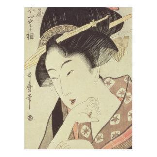 Reviente el retrato de la heroína Kioto del Itoya Postales